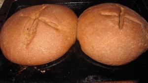 The dough rises!