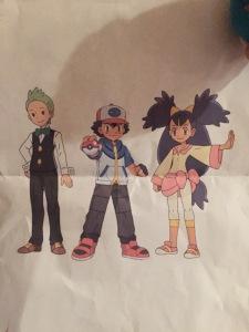 Cilan, Ash, and Iris