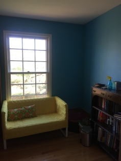 add a couch for musing by the window